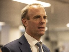 Foreign Secretary Dominic Raab has described claims that he did not speak to ministers in Afghanistan and Pakistan for months ahead of the evacuation crisis as 'not credible and deeply irresponsible' (Jeff Gilbert/Daily Telegraph/PA)