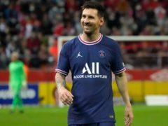 Messi came off the bench to make his debut (AP Photo/Francois Mori)