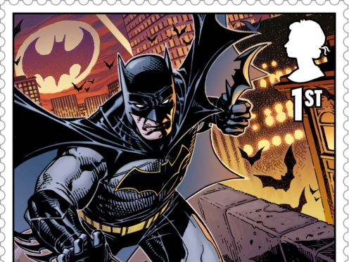Batman, from their DC collection (Royal Mail/PA)
