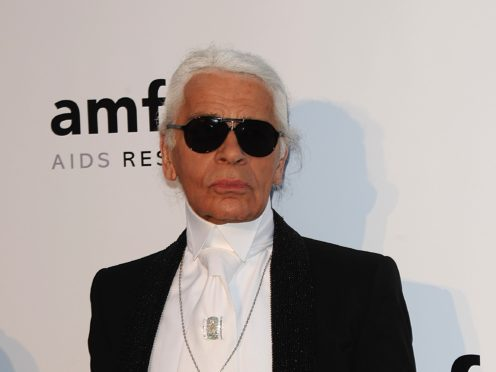 A new drama series, entitled Kaiser Karl, will tell the story of the life of late fashion designer (Ian West/PA)
