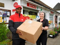 The Post Office has announced a strategic partnership with DPD (Post Office/PA)
