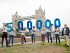 Philip Normal raises £500,000 for the Terrence Higgins Trust (Philip Normal/Terrence Higgins Trust/PA)