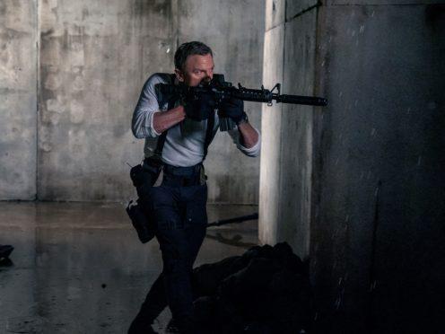James Bond (Daniel Craig) inNo Time To Die (MGM/PA)