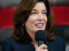 Kathy Hochul is set to take over as governor of New York State after Andrew Cuomo stepped down (Seth Wenig/AP)