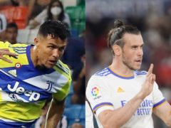 Cristiano Ronaldo and Gareth Bale made headlines on Sunday (AP)