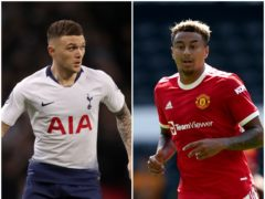 Keiran Trippier could be moving to Manchester United as Jesse Lingard leaves, according to today's football rumour mill (John Walton/John Walton/PA)