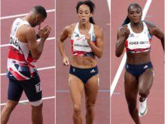 Team GB have suffered three key athletics injuries (PA)