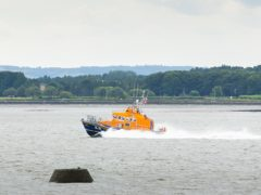Broughty Ferry lifeboat volunteers rushed to the aid of the trio (RNLI/Nick Mailer)