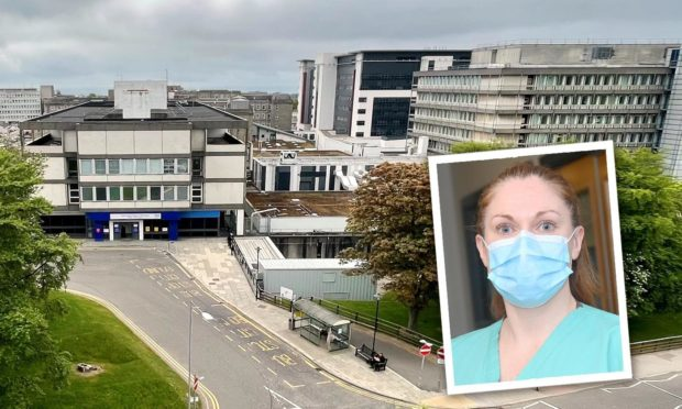 Covid doctor at Aberdeen hospital reveals different symptoms faced by young people fighting virus