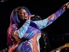Yola performs at the fifth annual Love Rocks NYC concert on June 3, 2021 (Charles Sykes/Invision/AP)