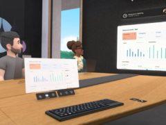 Horizon Workrooms is Facebook's new VR meeting room tool (Facebook/PA)