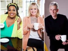 Alison Hammond, Peter Capaldi and Twiggy support fundraising campaign for Macmillan cancer charity (Nicky Johnston)