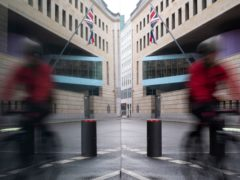 A British man has arrested in Germany accused of spying for Russia at the British Embassy in Berlin (Markus Schreiber/AP)