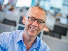 John Devlin, CEO and co-founder of Ascensos (Chris Watt/PA)
