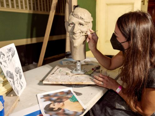 """The """"bad guys"""" are easier to caricature than figures who evoke a weaker reaction from the public, a Spitting Image sculptor has said (Mark Harrison/PA)"""