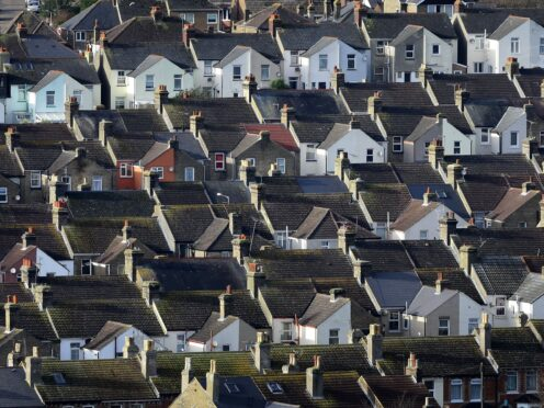 The average UK property price hit a record high of £262,954 in August, according to Halifax (Gareth Fuller/PA)