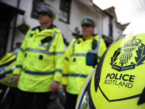 Police are investigating the incident (Andrew Milligan/PA)