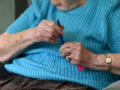 The report found that £3.3 billion was directly contributed to the Scottish economy from the care sector (Joe Giddens/PA)