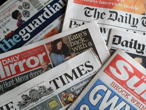 What the papers say – September 27 (PA)