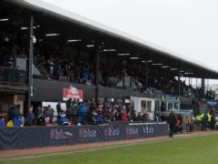Ayr got their first win of the season at Somerset Park (PA)