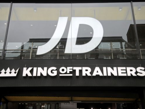 The UK competition watchdog has provisionally upheld its decision to block JD Sports' takeover of rival Footasylum (Yui Mok/PA)