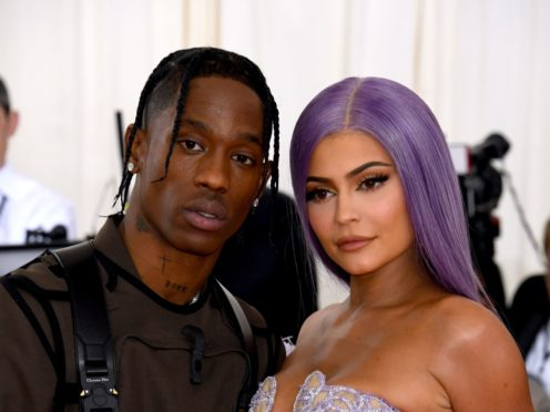 Kylie Jenner has confirmed she is expecting her second child with rapper Travis Scott (Jennifer Graylock/PA)
