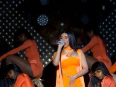 Cardi B has welcomed her second child with rapper husband Offset (Isabel Infantes/PA)