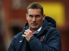 Exeter boss Matt Taylor will be without Harry Kite on Saturday (Mark Kerton/PA)