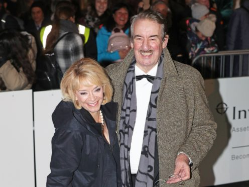 Sue Holderness and John Challis starred as a married couple in Only Fools And Horses (Jonathan Brady/PA)