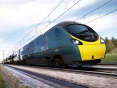 Avanti West Coast operator FirstGroup has said trading has been on track (Avanti West Coast/PA)