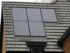 The Feed In Tariff supports small energy production, such as solar panels (Andrew Matthews/PA)
