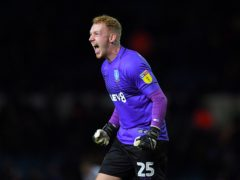 Cameron Dawson made a string of fine saves to keep the scores level (Dave Howarth/PA)