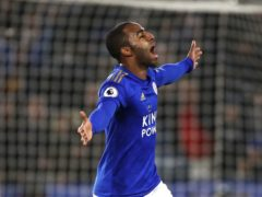 Ricardo Pereira is fit for Leicester's home game against Premier League champions Manchester City (Tim Goode/PA)