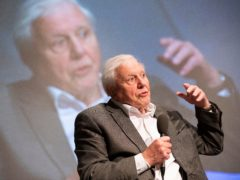 Sir David Attenborough speaking at the first UK-wide citizens' assembly on climate change