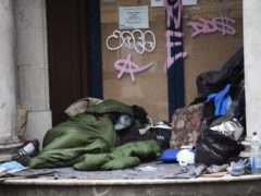 More than 800 households presented as homeless after being evicted from social housing (Victoria Jones/PA)