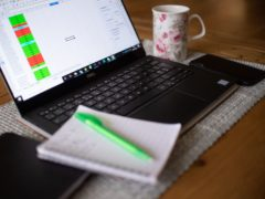 The survey found more than a quarter (27%) of office workers would accept a pay cut to switch to permanent homeworking (PA)