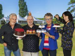 Paul Hollywood, Matt Lucas, Dame Prue Leith and Noel Fielding (C4/Love Productions/Mark Bourdillon/PA)