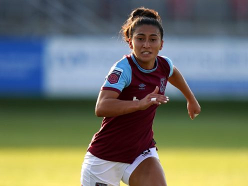 Maz Pacheco joined Aston Villa this summer after spending last season with West Ham (Tess Derry/PA).