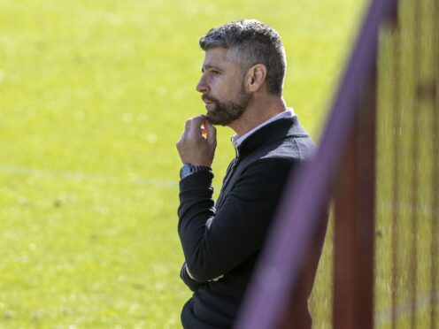 Stephen Robinson saw Morecambe earn a hard-fought point (Jeff Holmes/PA)