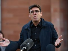 Greater Manchester mayor Andy Burnham has given his full support to campaign group Fair Game (Jacob King/PA)