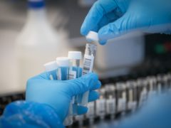 A PCR testing company is under investigation by the Competition and Markets Authority (Jane Barlow/PA)