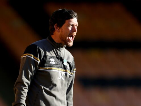 Port Vale manager Darrell Clarke is refusing to get carried away (Bradley Collyer/PA)