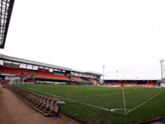 Tam Courts has taken encouragement from Dundee United's last two displays at Tannadice. (Jeff Holmes/PA)