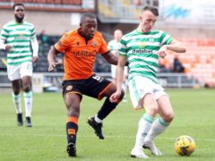 Jeando Fuchs has been in good form for Dundee United (Jeff Holmes/PA)