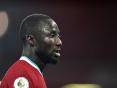 Liverpool midfielder Naby Keita has been caught up in a military coup in his homeland of Guinea (Peter Powell/PA)