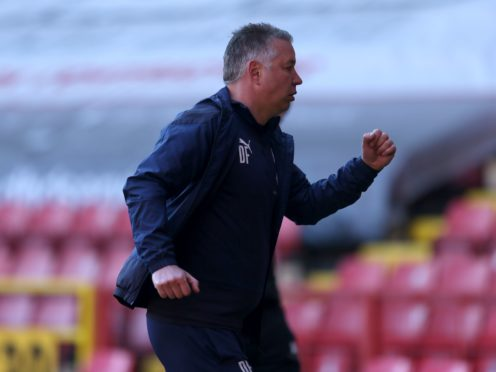 Peterborough manager Darren Ferguson has now been in charge of the club for the most games (Steven Paston/PA)