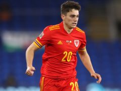 Wales winger Daniel James has been praised for the way he has handled his move from Manchester United to Leeds (Nick Potts/PA).