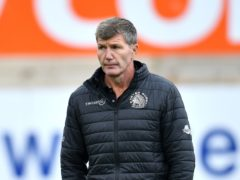 Exeter rugby director Rob Baxter is looking forward to the new season (PA)