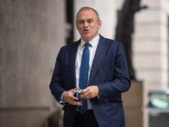 Liberal Democrat leader Sir Ed Davey (Dominic Lipinski/PA)