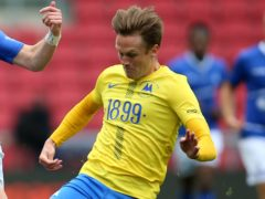Armani Little scored twice for Torquay (Nigel French/PA)